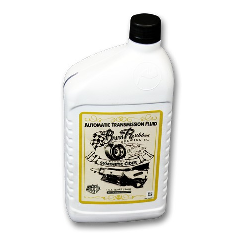 Burn Rubber<sup>®</sup> Brewing Universal Synthetic Cider, Auto Transmission Fluid,  1 Quart