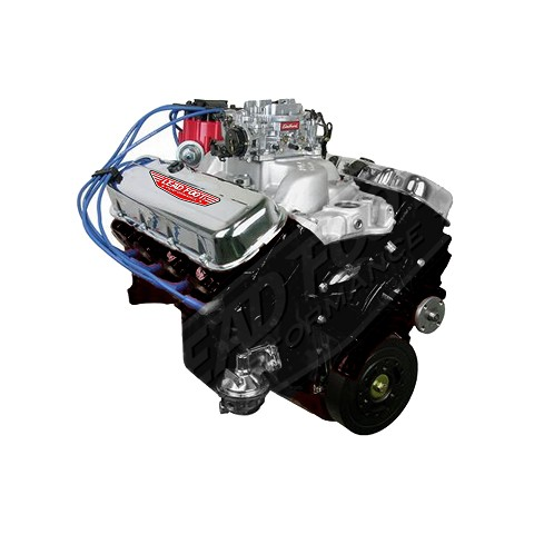 Lead Foot Performance - 454 Big Block Chevy Engine Complete 4 Bolt Main - Rated at 415 Hp/497 Ft Lbs