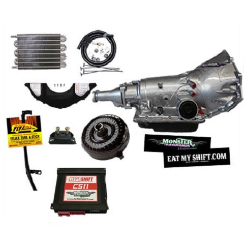 4L60E/4L65E HD Transmission Master Conversion Package 2WD, LS engines
