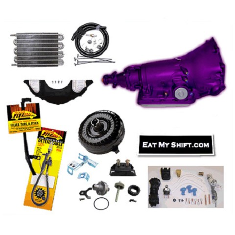 700R4 SS Transmission Master Conversion Package 2WD Merch Purple