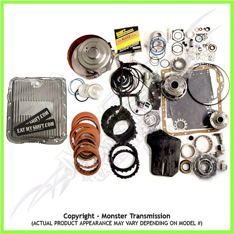 4L65E Transmission Rebuild Kit, SS Monster-In-A-Box: 2003-06
