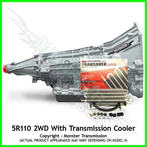 Heavy Duty 5R110 Transmission, Gas 2WD w/ Transmission Cooler