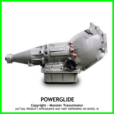 Powerglide Mega SS Monster Performance Transmission - Rated Up To 1800hp