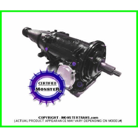 C4 Heavy Duty Transmission 4WD 4x4, Pan Fill
