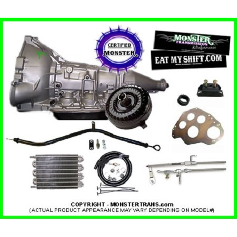 Ford AOD SS Transmission Master Conversion Package 2WD