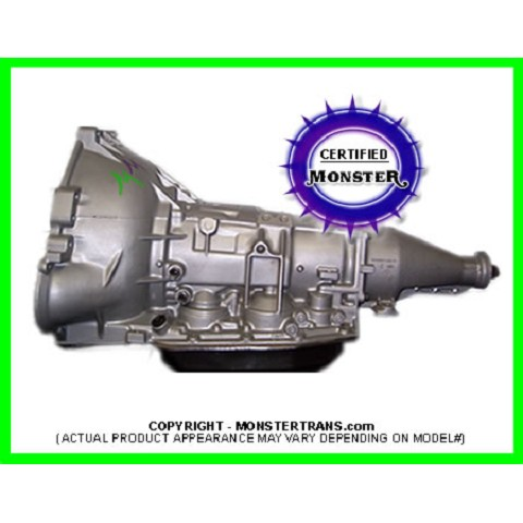 4R70W Heavy Duty Performance Transmission 2WD