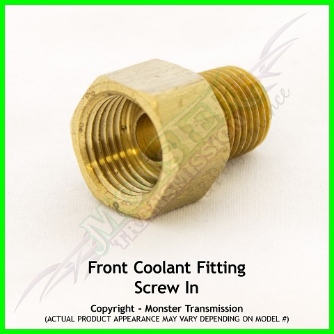 Chevrolet Front Coolant Fitting - Screw In