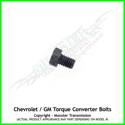 GM - Chevrolet Torque Converter Installation Bolts Hardware
