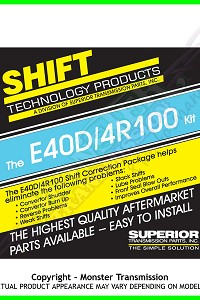 Superior | E40D Pump Correction Package
